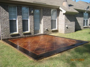 STAMPED CONCRETE MILLBROOK AL