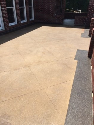 stained concrete alabaster al