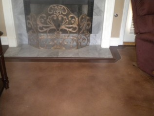 stained concrete greenville al