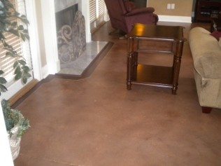 stained concrete opeilka al