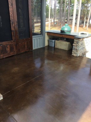 stained concrete opelika al