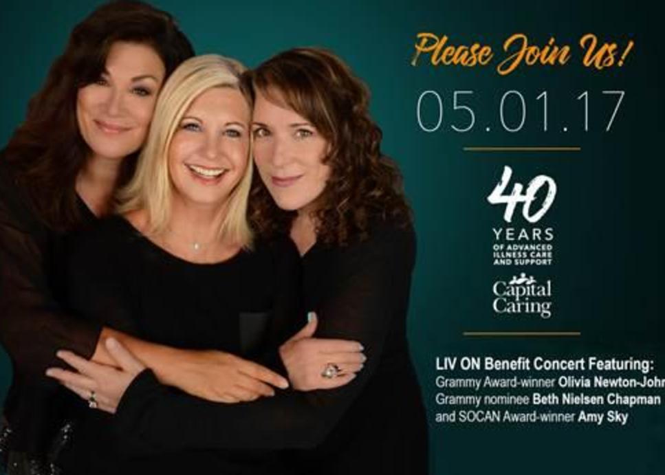 Liv On Benefit Concert Featuring Olivia Newton-John