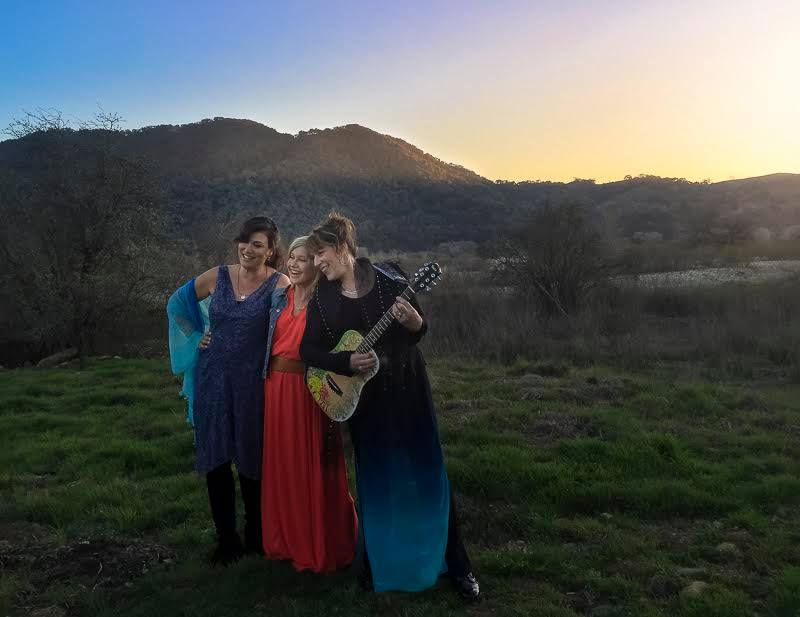 """shooting the video for """"Liv On"""" in February 2016 at Olivia's Ranch"""