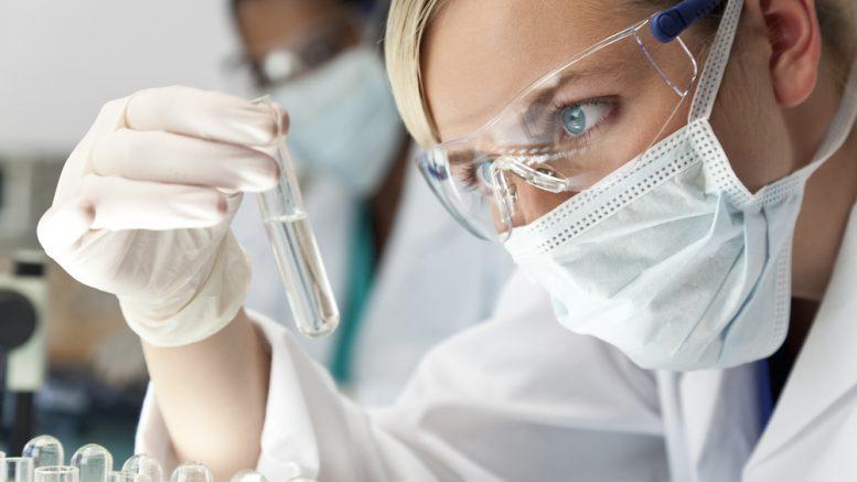 Scientist in Laboratory