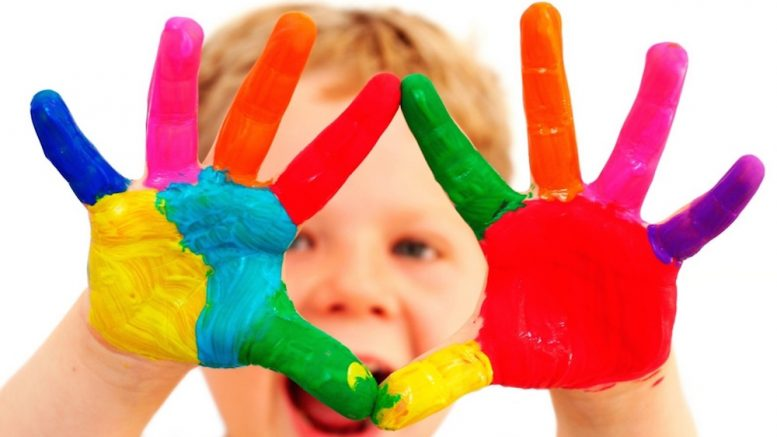 Child Art with Hands