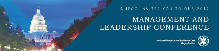 National Hospice and Palliative Care Management and Leadership Conference