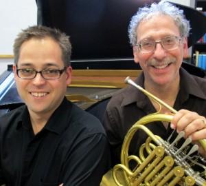 Michael Dauphinais (left) and Daniel Katzen