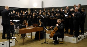 The UA Collegium Musicum performs regularly at the Arizona Senior Academy. They are pictured here in a recent ASA performance.