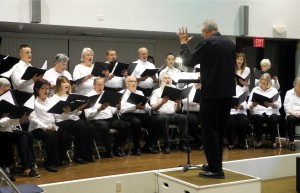 Fred Reinagel conducts The Vail Chorale