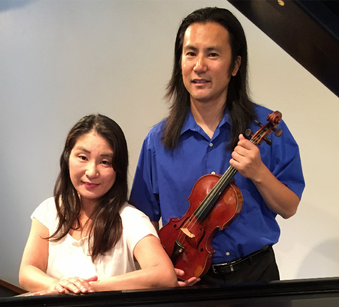 Violin, Piano Duo to Play Mozart, Schumann: July 2015