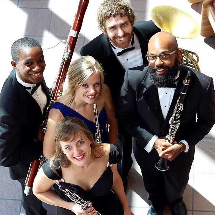 Meet the UA's New Graduate Wind Quintet: November 2015