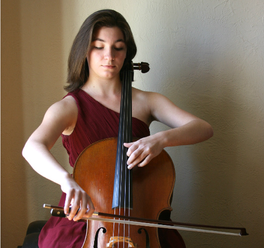 TSO Cellist Shows Off Her Young Protégé: May 2016