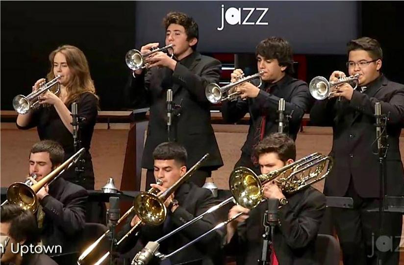ASA Hosts America's Top High School Jazz Band: May 2016