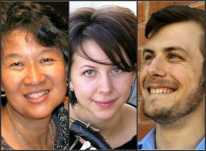 Johanna Lundy (center) will be joined by Paula Fan on Piano and David Barford on oboe.
