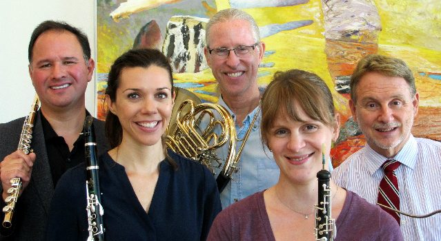 UA Wind Quintet Returns With Two New Faces: October 2016