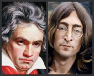 The music of Beethoven and John Lennon have much in common.