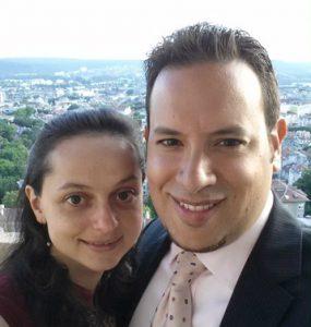 Elena Miraztchiyska and Moisés Paiewonsky