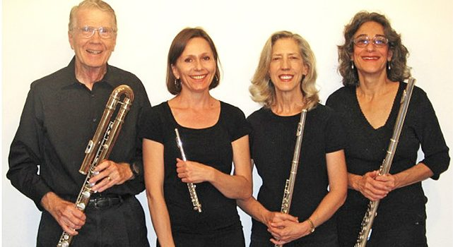 Flute Quartet Returns with 'Music of the Americas': June 2018