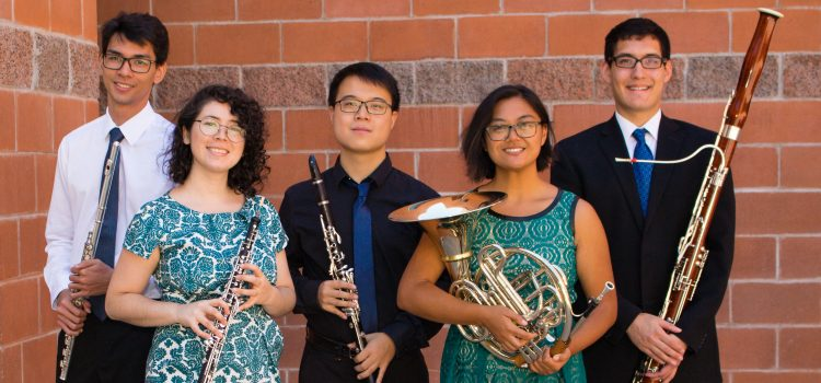 Elite Student Wind Quintet Makes ASA Debut:Dec.2017
