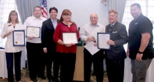 Community Service Award for Simi Valley Elks Lodge #2492 - Pamela Messier