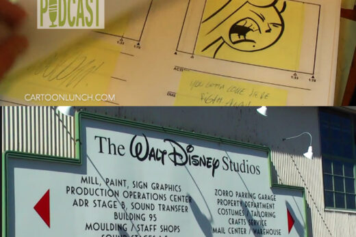 Walt Disney Studio tour.