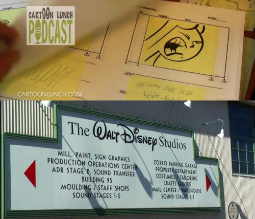 Walt Disney Studio tour.