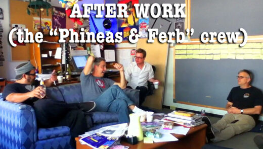 Work on Phineas and Ferb video