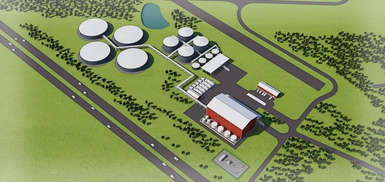 Height variance will allow 75-foot chicken litter recycling plant