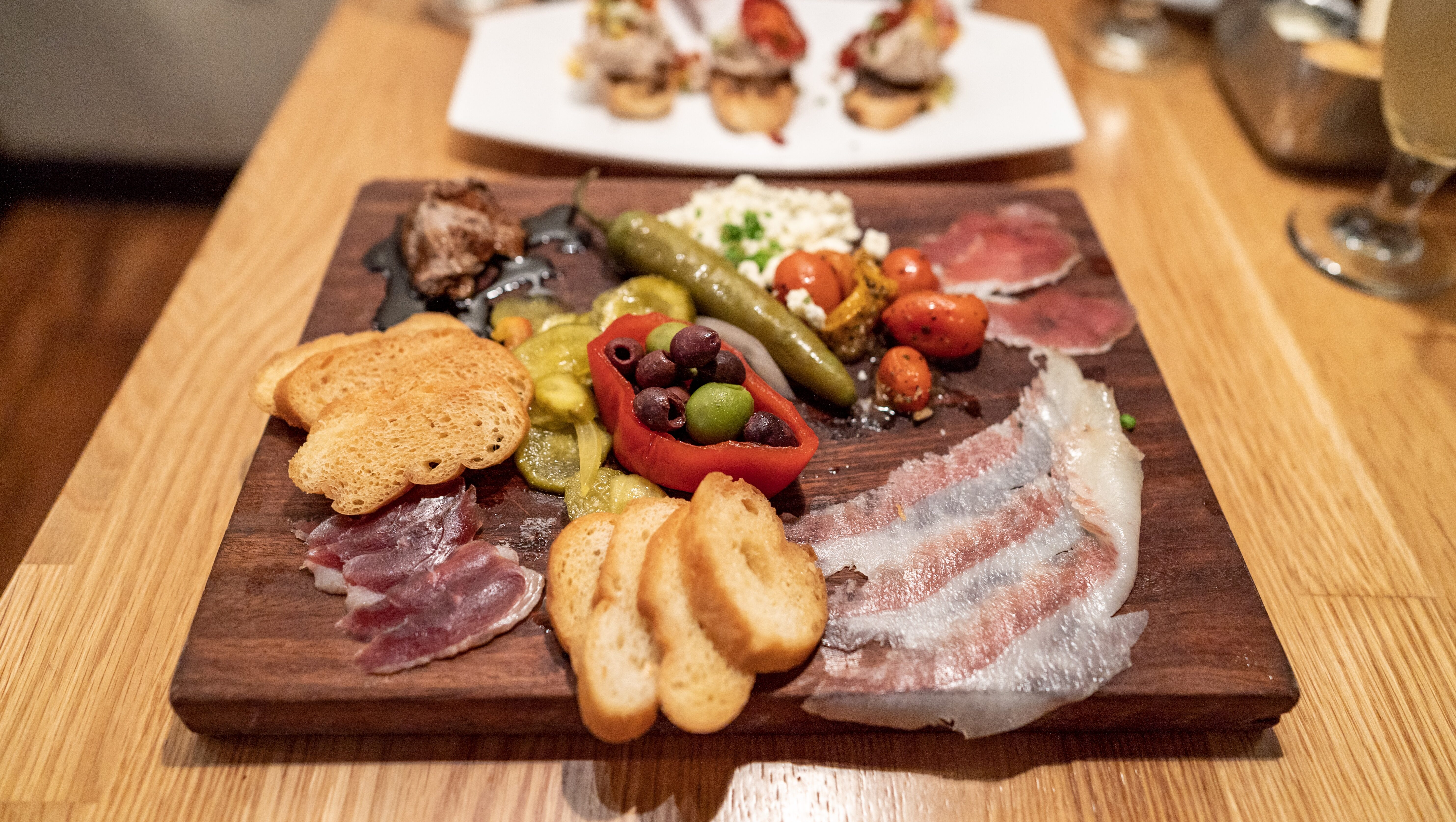 Charcuterie board at 12th Ave Grill