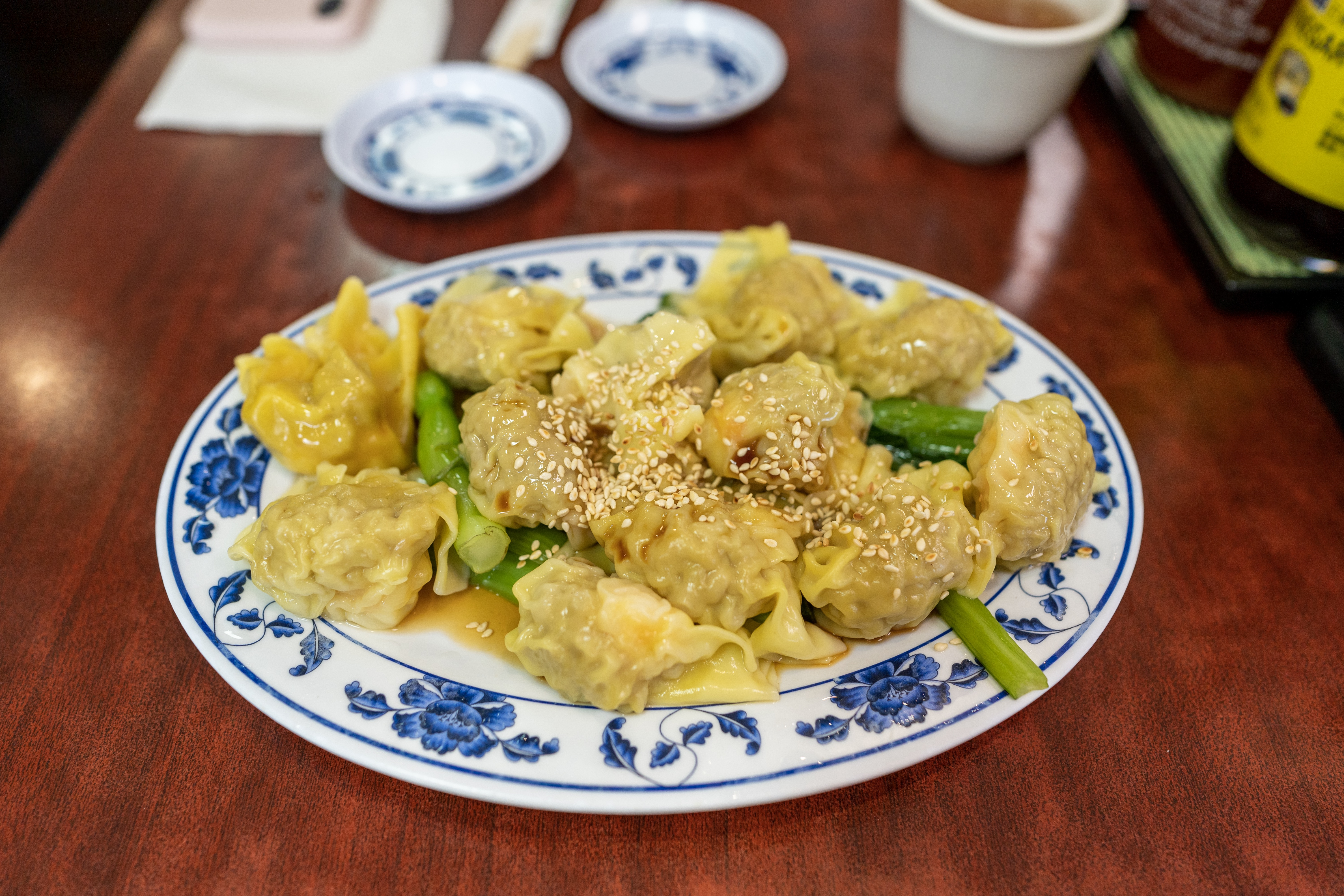 Dry Won Tons at Lam's Kitchen