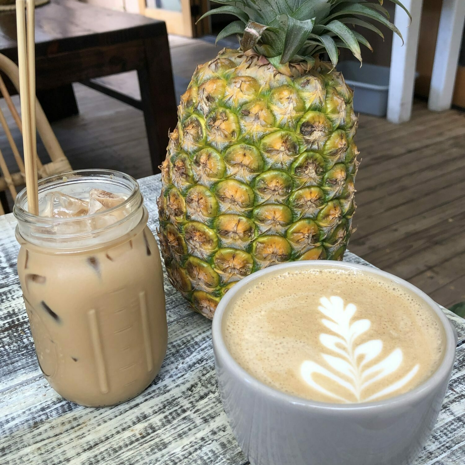 Cute Maui coffee shops