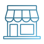 retail icon, click here for retail properties