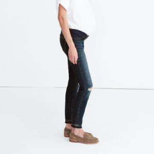 8_Madewell Maternity Jean