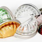 Melon Glass Bin Pulls