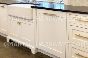 Martell - Shaker Style Kitchen featuring Brushed Brass