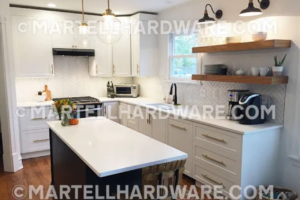 Martell - Shaker Style Kitchen with Accent Island