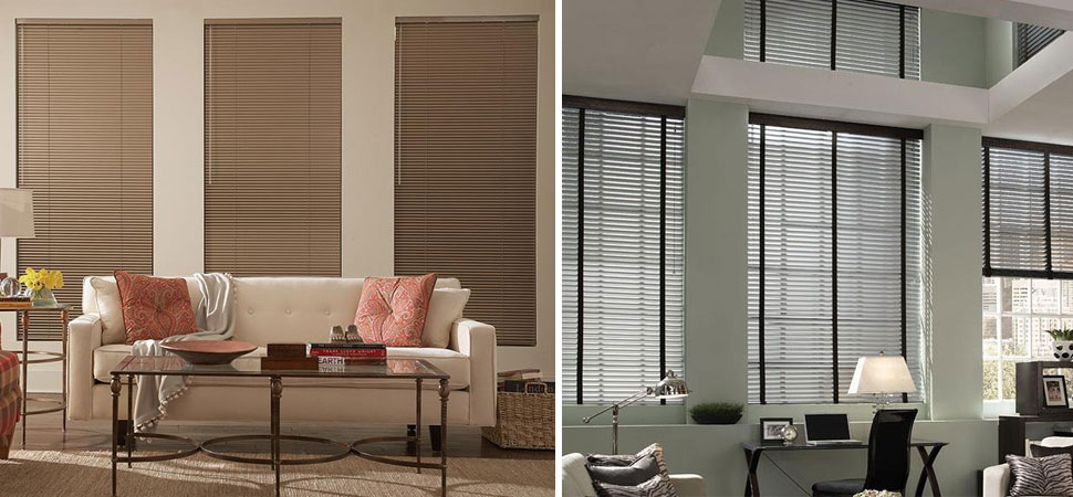 mini blinds - venetian blinds - aluminum blinds Lafayette interior Fashions Aluminum blinds