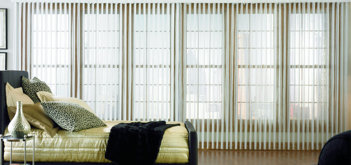 Lafayette Interior Fashions Sheer Vision Vertical