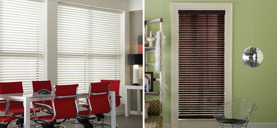 wide white Faux Wood Blinds Office ideas wide French door wood blinds room darkening