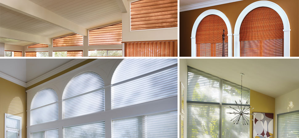 custom specialty window shades window grilles wrought iron grilles arch window, Triangle Window, Specialty Shapes