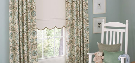 kids blackout curtains with blinds nursery ideas