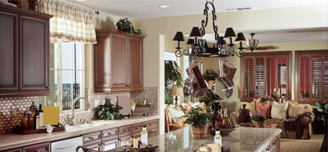 kitchen ideas - window valances - window treatments - yellow