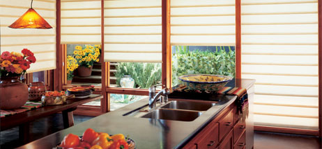 Kitchen Ideas Window Treatments Hunter Douglas