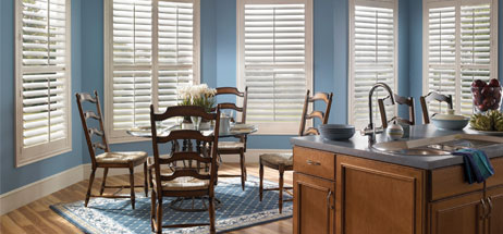 kitchen ideas - window treatments shutters