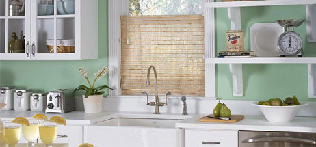 kitchen ideas window treatments top down bottom up