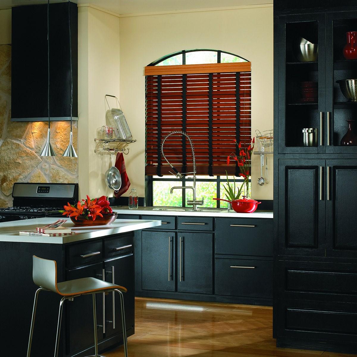 Fidelis wood blinds