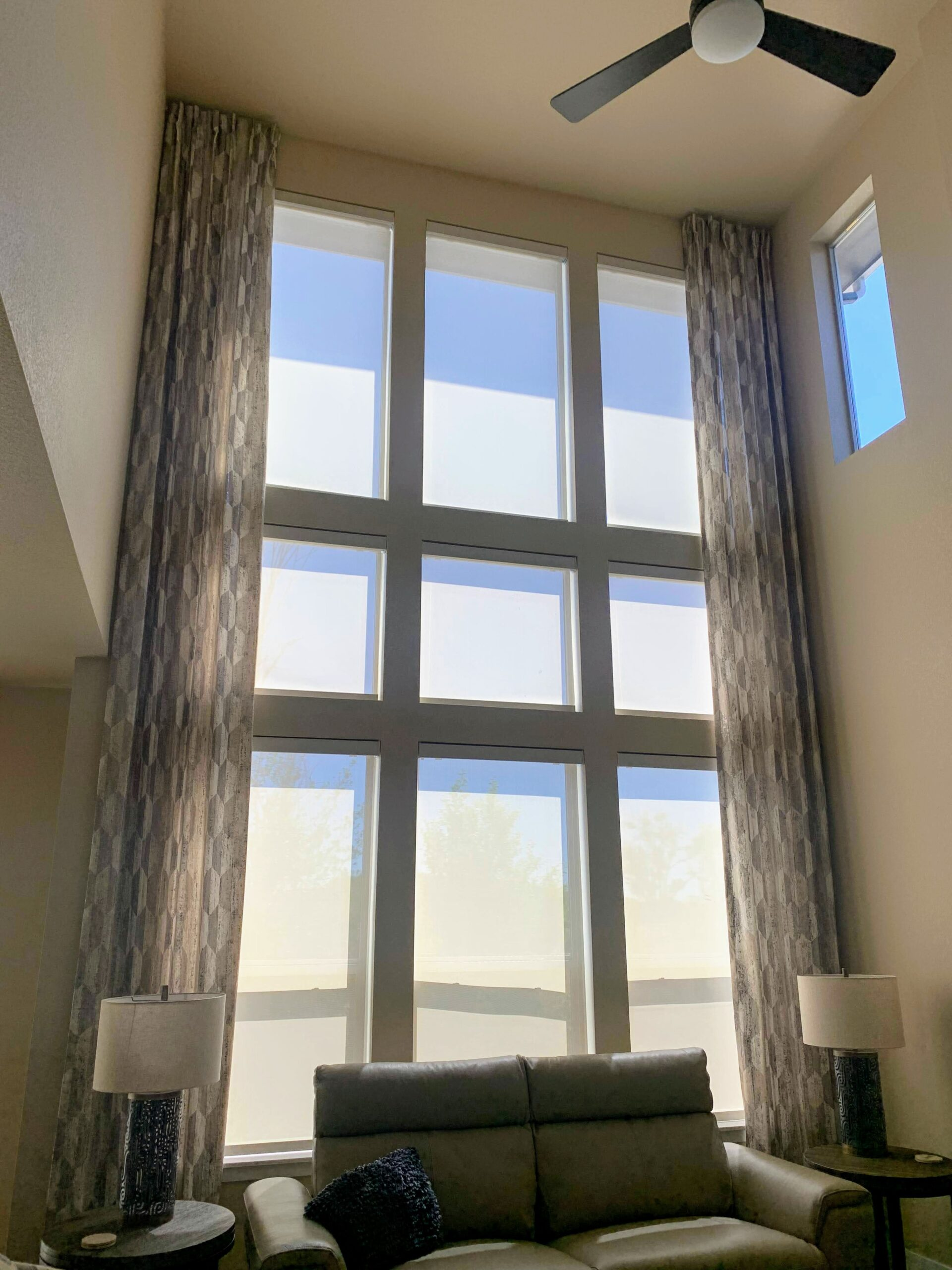 Design inspo for tall and wide windows by Windows Dressed Up