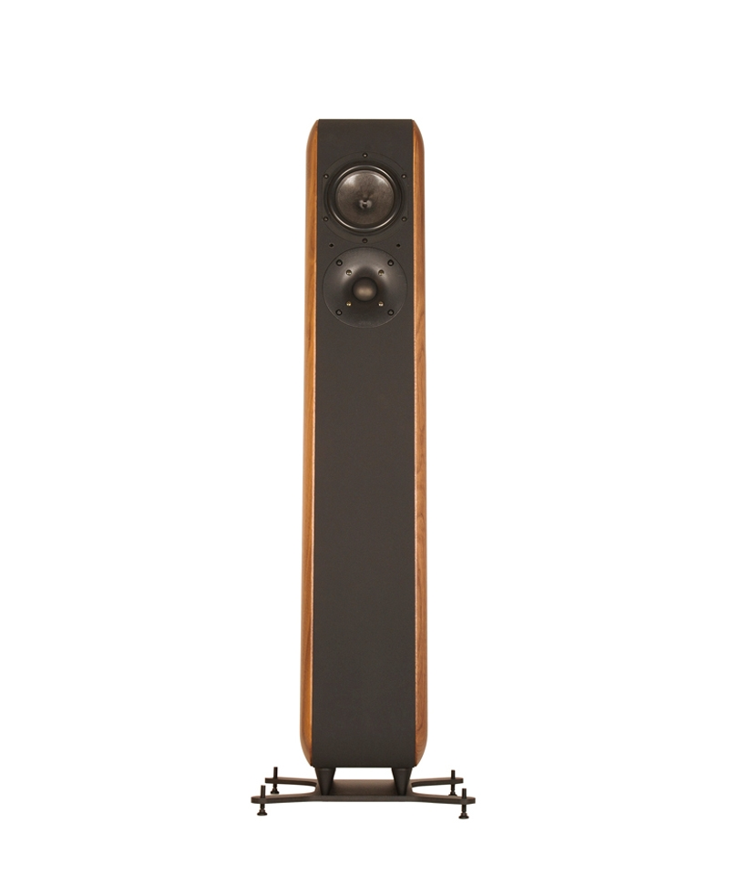 Chario Aviator Amelia Speaker. Chario Floor standing Speaker. Front view without grill cover.