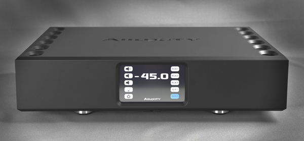 Alluxity Integrated amp in flat black finish