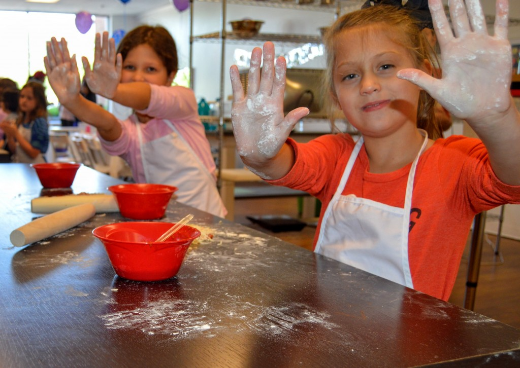 kids cooking faronda davis